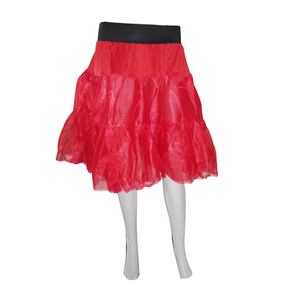 Red Tulle Skirt