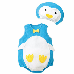 Penguin Sleeveless Romper