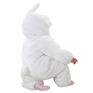 White Rabbit Hooded Jumpsuit