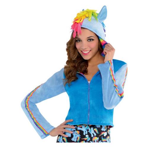 My Little Pony Rainbow Dash Hoodie Womens Costumes Costume