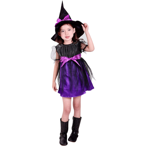 Purple Witch Girl | Girls Costumes | Costume House
