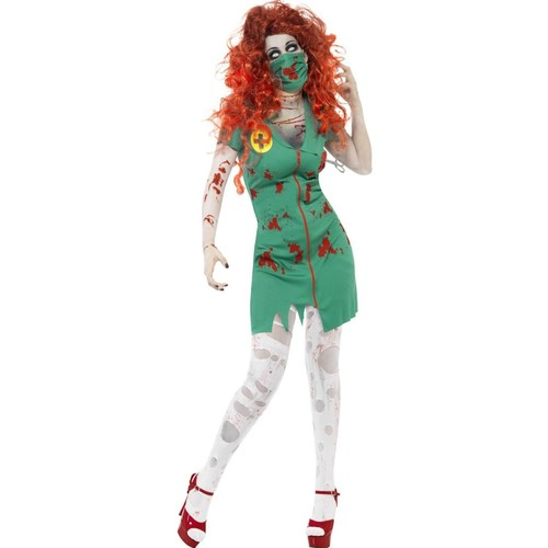 Bloody Nurse Zombie Womens Costumes Costume House